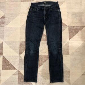 7 for All Mankind Blue Jeans size 24